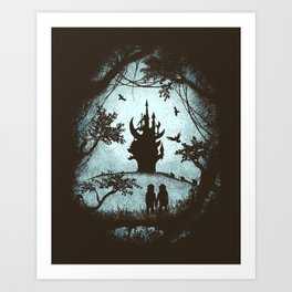 Dark Crystal Dreams Art Print