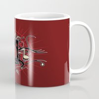 sound Mugs featuring Sound by Carly Curgenven