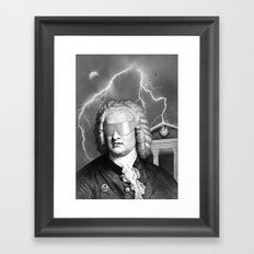 Bach To The Future (New Version) Framed Art Print