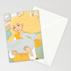 Goose Girl Stationery Cards