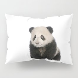 Young Giant Panda Pillow Sham