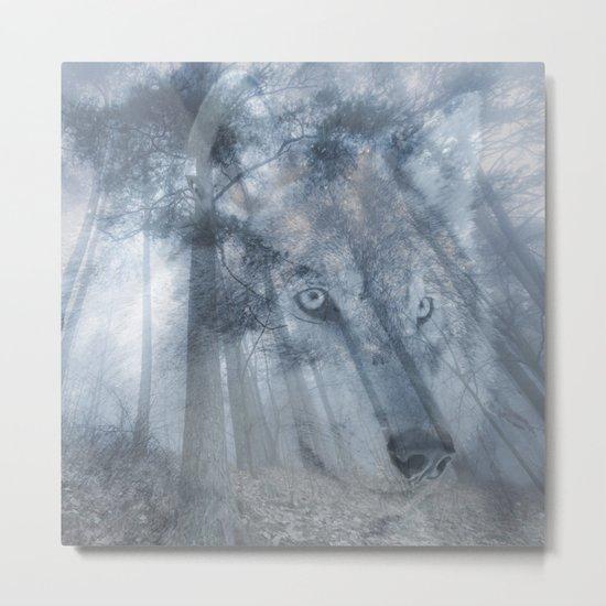 Wolf Spirit  Metal Print