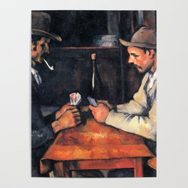 Paul Cézanne - The Card Players Poster