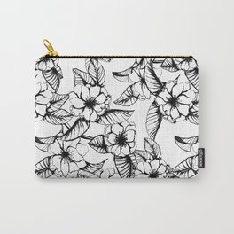 Almond Flower Carry-All Pouch