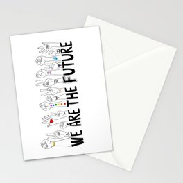 We Are The Future Stationery Cards