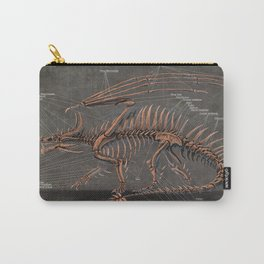 Western Dragon Skeleton Anatomy Carry-All Pouch
