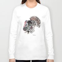 turkey Long Sleeve T-shirts featuring Turkey by Elena Sandovici