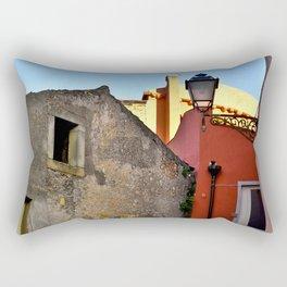 Medieval village of Sicily Rectangular Pillow