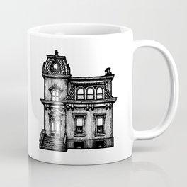 Haunted Victorian House Halloween Coffee Mug