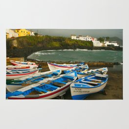Portuguese harbour Rug