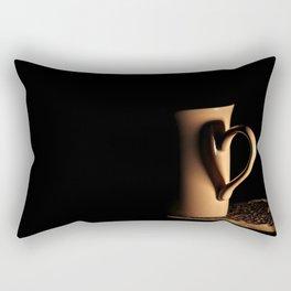 Fancy a cup of tea/coffee? Rectangular Pillow