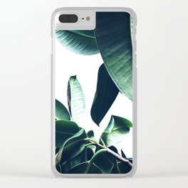 Ficus Elastica #26 #foliage #decor #art #society6 Clear iPhone Case