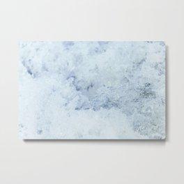 Turbulent Lake Water 13 Metal Print