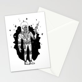 Intergalactic Bone Man Stationery Cards
