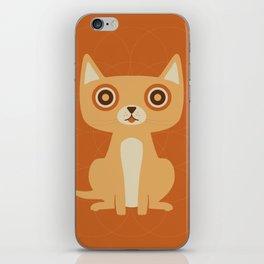 Cat Print iPhone Skin