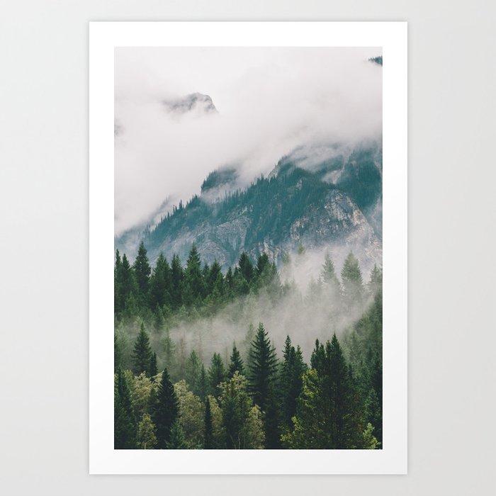 Vancouver Fog Kunstdrucke