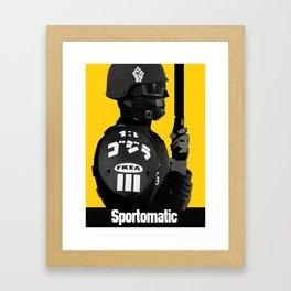 Sporto Propaganda  Framed Art Print