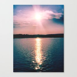 Sunset on the Susquehanna River Canvas Print