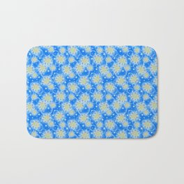 Inspirational Glitter & Bubble pattern Bath Mat