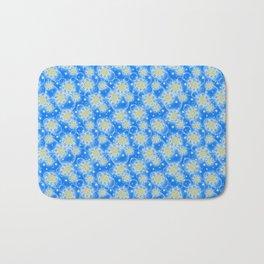Inspirational Glitter & Bubble pattern Bath Mat