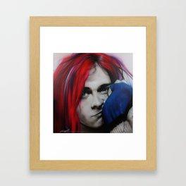 'Guitar Demolition' Framed Art Print