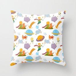 The little boy Throw Pillow
