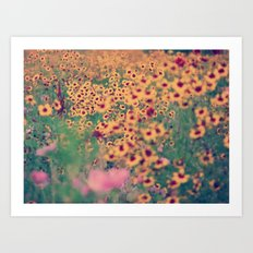 Mellow Meadow Art Print