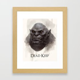 Dead Keep - Troll Framed Art Print
