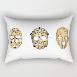 Fibreglass Masks 2 Rectangular Pillow