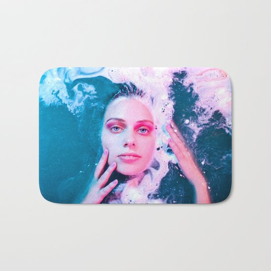 She Comes from the Sea Bath Mat