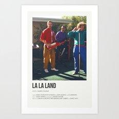 La La Land- I Ran Art Print