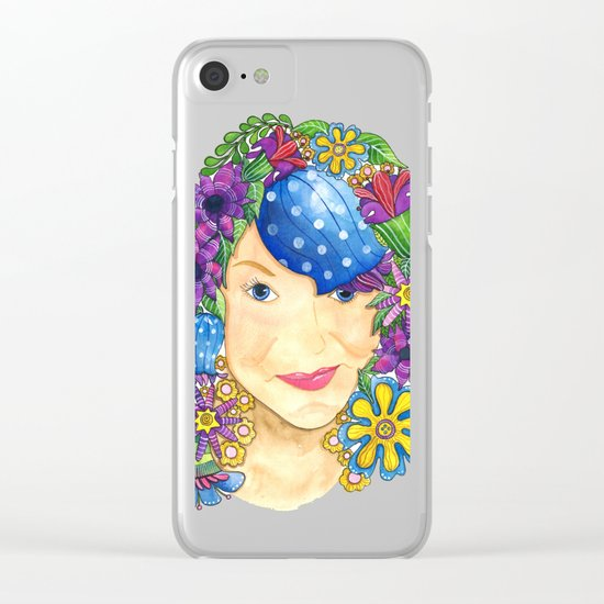 Beauty Clear iPhone Case