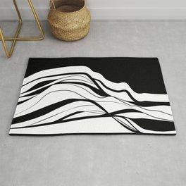 Black & white / minimalist Rug