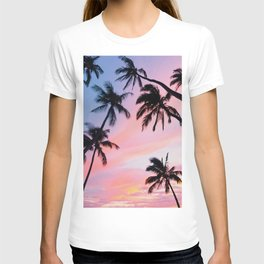 Sunset Palm Trees T-shirt