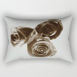 Inverted Roses Rectangular Pillow