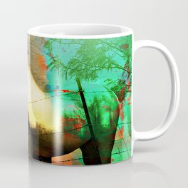 Grazing Horses in Texas Coffee Mug
