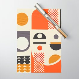 Mid-century no1 Wrapping Paper