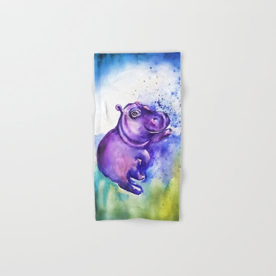 Hand Towel Near Me: Splashing Around Hand & Bath Towel By