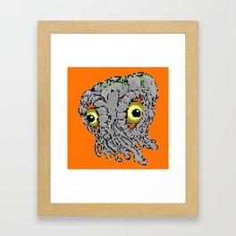 hedorah Framed Art Print