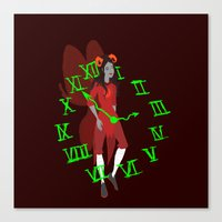 homestuck Canvas Prints featuring Maid of Time  by Paula Urruti