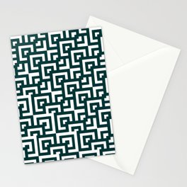 pattern tiles Stationery Cards