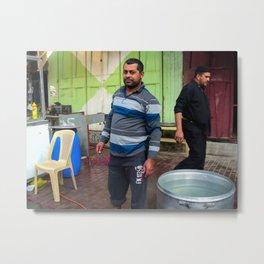 Iraqi face Metal Print