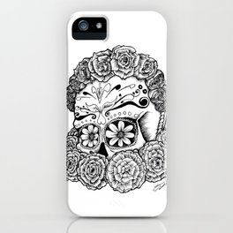 Katrina (white version) iPhone Case