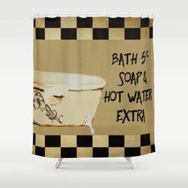 Bath 5 cents Bathroom Art Shower Curtain