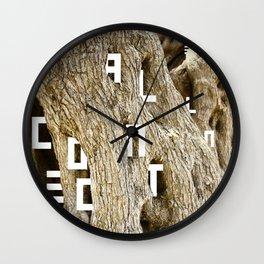 W.A.A.C. Wall Clock