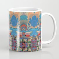 oasis Mugs featuring Oasis by Jim Pavelle