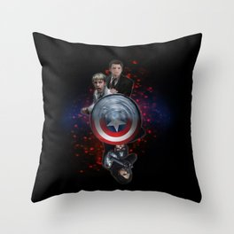 Steve and Bucky (Stucky) - Some Things... (version 2) Throw Pillow