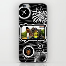 Bwilly Bwightt's Toon Show Remixed iPhone Skin