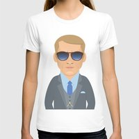 steve mcqueen T-shirts featuring Steve McQueen by Capitoni