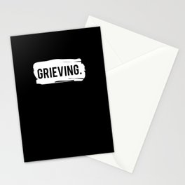 Grieving Stationery Cards